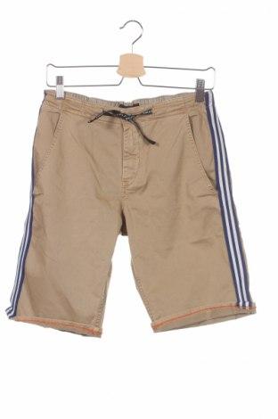 Παιδικό κοντό παντελόνι Replay, Μέγεθος 15-18y/ 170-176 εκ., Χρώμα Καφέ, 97% βαμβάκι, 3% ελαστάνη, Τιμή 27,05€