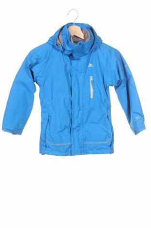 Детско спортно яке Trespass, Размер 4-5y/ 110-116 см, Цвят Син, Полиамид, Цена 69,52лв.