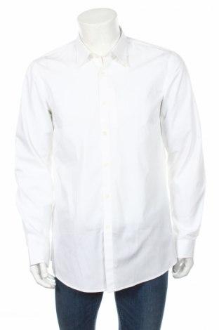 Мъжка риза Adidas Slvr, Размер L, Цвят Бял, 100% памук, Цена 44,70лв.