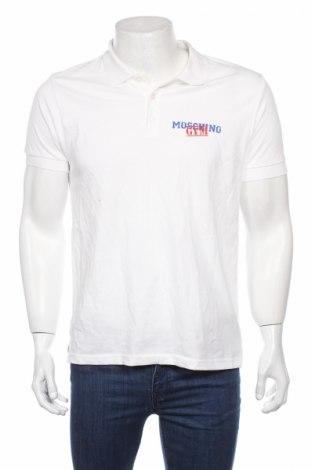Ανδρικό t-shirt Moschino underwear, Μέγεθος M, Χρώμα Λευκό, Βαμβάκι, Τιμή 18,40€