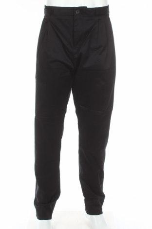Мъжки панталон Adidas Slvr, Размер L, Цвят Черен, Памук, Цена 27,30лв.