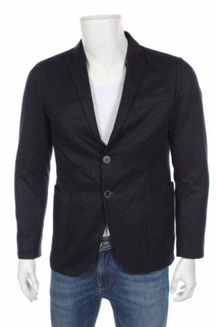 Pánske sako  S.Oliver, Veľkosť M, Farba Modrá, 92% polyester, 8% viskóza, Cena  10,75€