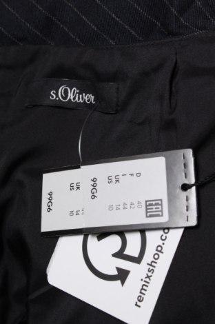 Пола S.Oliver, Размер M, Цвят Син, 60% полиестер, 33% вискоза, 7% еластан, Цена 18,17лв.