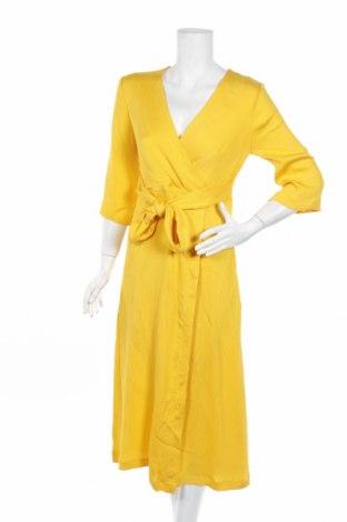 Šaty  Closet, Rozměr M, Barva Žlutá, 88% viskóza, 12% polyester, Cena  732,00Kč