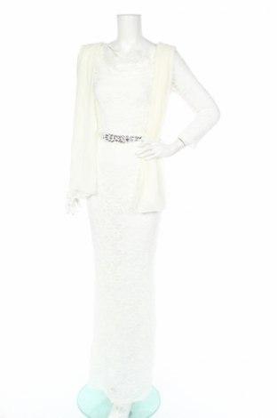 Φόρεμα Young Couture By Barbara Schwarzer, Μέγεθος S, Χρώμα Λευκό, 60% πολυαμίδη, 35% πολυεστέρας, 5% ελαστάνη, Τιμή 45,36€