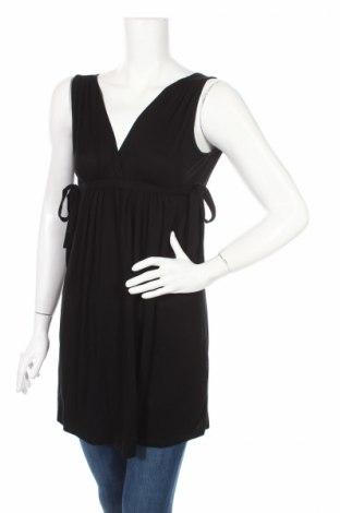 Туника Zara, Размер S, Цвят Черен, 96% вискоза, 4% еластан, Цена 8,50лв.