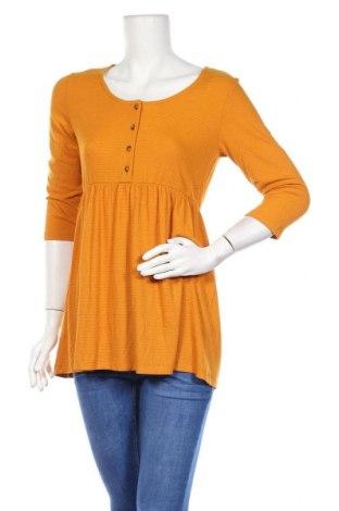 Блуза за бременни Mamalicious, Размер M, Цвят Жълт, 52% вискоза, 40% полиестер, 8% еластан, Цена 28,42лв.