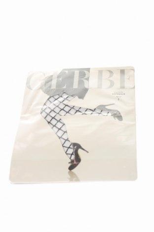 Чорапогащи Gerbe, Размер S, Цвят Черен, 91% полиамид, 8% еластан, 1% памук, Цена 21,75лв.