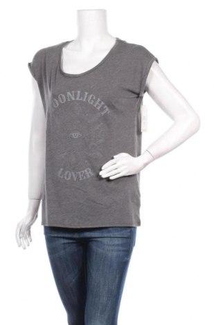 Дамска блуза Billabong, Размер M, Цвят Сив, 50% памук, 50% полиестер, Цена 23,40лв.