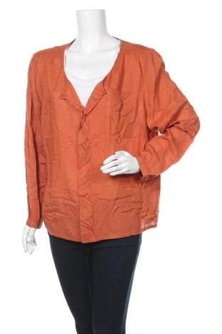 Γυναικεία μπλούζα Bon'a Parte, Μέγεθος M, Χρώμα Πορτοκαλί, Βισκόζη, Τιμή 2,27€