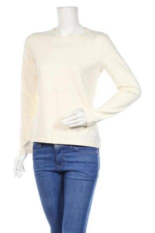 Γυναικεία μπλούζα Bon'a Parte, Μέγεθος M, Χρώμα Εκρού, 94% βαμβάκι, 6% ελαστάνη, Τιμή 7,73€