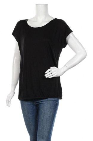 Дамска блуза Camaieu, Размер XL, Цвят Черен, 95% вискоза, 5% еластан, Цена 25,35лв.