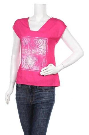Дамска блуза Camaieu, Размер S, Цвят Розов, Полиестер, Цена 25,35лв.