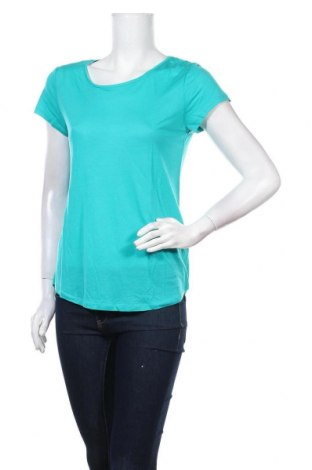 Дамска блуза Camaieu, Размер L, Цвят Син, Лиосел, Цена 25,35лв.