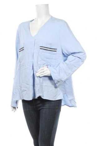 Γυναικεία μπλούζα Camaieu, Μέγεθος XL, Χρώμα Μπλέ, 93% βισκόζη, 7% πολυαμίδη, Τιμή 12,12€