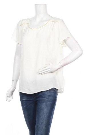 Дамска блуза Camaieu, Размер XL, Цвят Екрю, Полиестер, Цена 25,35лв.