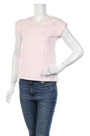 Дамска блуза Camaieu, Размер XS, Цвят Розов, 50% вискоза, 50% памук, Цена 25,35лв.