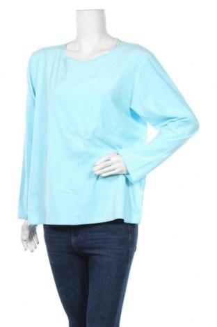 Γυναικεία μπλούζα Carole Hochman, Μέγεθος L, Χρώμα Μπλέ, Πολυεστέρας, Τιμή 7,73€