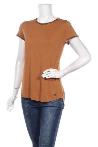 Γυναικεία μπλούζα Chattawak, Μέγεθος S, Χρώμα Καφέ, Χαλκαμμωνία, Τιμή 8,42€