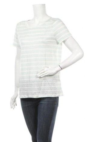 Γυναικεία μπλούζα Christian Berg, Μέγεθος L, Χρώμα Λευκό, 94% λινό, 3% πολυαμίδη, 3% μεταλλικά νήματα, Τιμή 9,80€