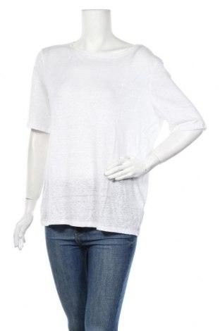 Γυναικεία μπλούζα Christian Berg, Μέγεθος L, Χρώμα Λευκό, 100% λινό, Τιμή 8,77€