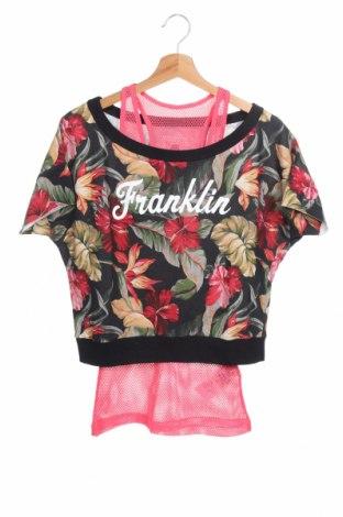 Дамска блуза Franklin & Marshall, Размер XS, Цвят Многоцветен, Памук, Цена 19,00лв.