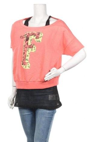 Дамска блуза Franklin & Marshall, Размер XL, Цвят Розов, Памук, Цена 30,40лв.
