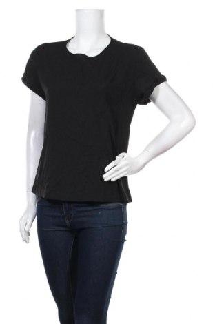 Дамска блуза French Connection, Размер L, Цвят Черен, Полиестер, Цена 22,42лв.