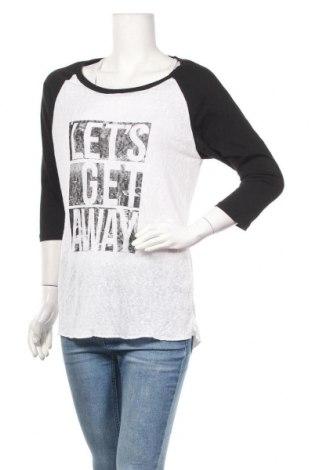 Γυναικεία μπλούζα G 21, Μέγεθος L, Χρώμα Λευκό, 55% βισκόζη, 45% πολυεστέρας, Τιμή 8,77€