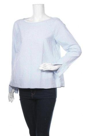 Дамска блуза H&M L.O.G.G., Размер M, Цвят Син, Памук, Цена 8,98лв.
