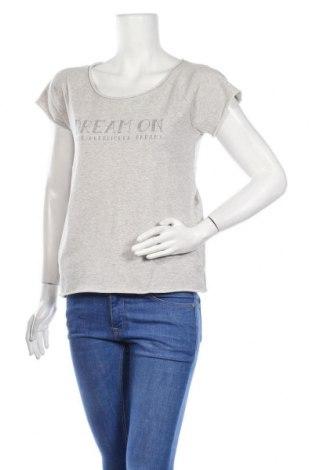 Дамска блуза Herrlicher, Размер XS, Цвят Сив, 75% памук, 25% полиестер, Цена 9,08лв.