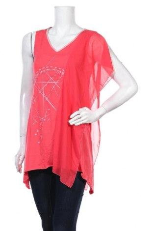 Γυναικεία μπλούζα La Mode Est A Vous, Μέγεθος L, Χρώμα Κόκκινο, 92% βισκόζη, 8% ελαστάνη, Τιμή 8,64€