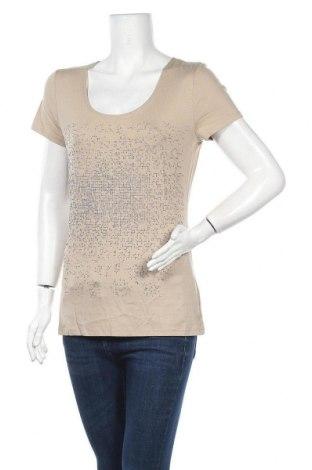 Γυναικεία μπλούζα Lauren Vidal, Μέγεθος S, Χρώμα  Μπέζ, 94% μοντάλ, 6% ελαστάνη, Τιμή 11,74€