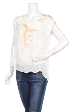 Γυναικεία μπλούζα Lauren Vidal, Μέγεθος S, Χρώμα Εκρού, Βισκόζη, Τιμή 11,74€