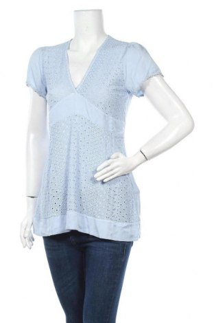 Γυναικεία μπλούζα Lauren Vidal, Μέγεθος S, Χρώμα Μπλέ, Βισκόζη, Τιμή 11,74€