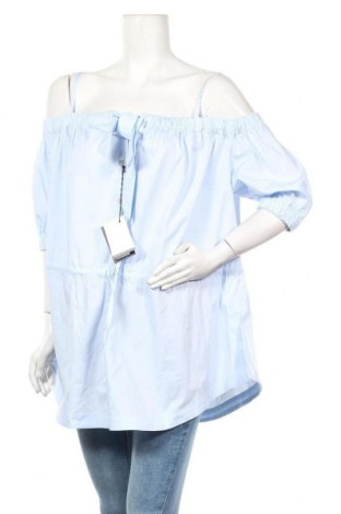 Γυναικεία μπλούζα Love Moschino, Μέγεθος M, Χρώμα Μπλέ, 97% βαμβάκι, 3% ελαστάνη, Τιμή 82,63€