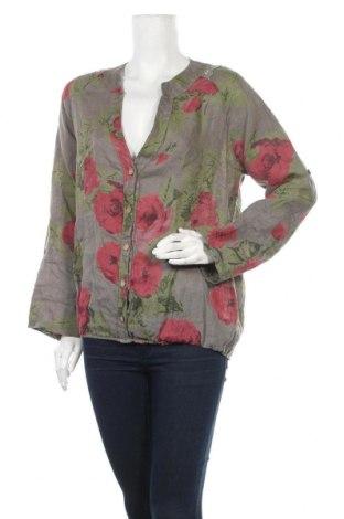 Γυναικεία μπλούζα Made In Italy, Μέγεθος M, Χρώμα Πολύχρωμο, Λινό, Τιμή 7,84€
