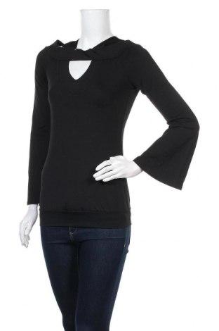 Γυναικεία μπλούζα Melrose, Μέγεθος M, Χρώμα Μαύρο, 95% πολυεστέρας, 5% ελαστάνη, Τιμή 10,67€