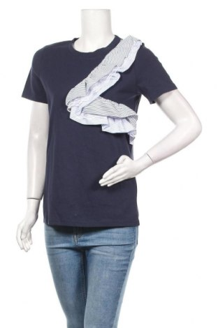 Γυναικεία μπλούζα Molly Bracken, Μέγεθος S, Χρώμα Μπλέ, Βαμβάκι, Τιμή 11,39€