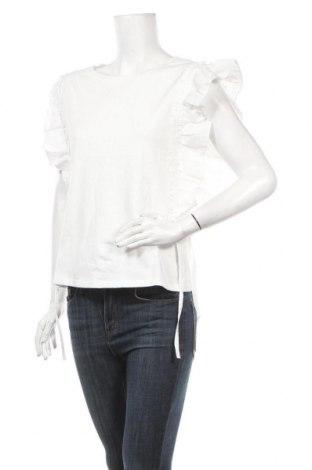 Γυναικεία μπλούζα Molly Bracken, Μέγεθος M, Χρώμα Λευκό, 100% βαμβάκι, Τιμή 16,42€