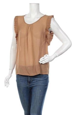 Γυναικεία μπλούζα Molly Bracken, Μέγεθος M, Χρώμα Καφέ, 100% πολυεστέρας, Τιμή 18,56€