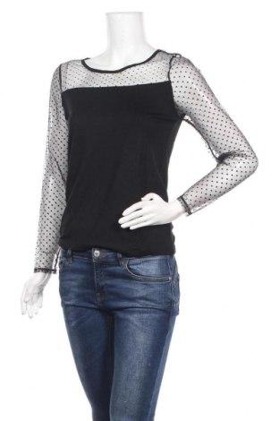 Γυναικεία μπλούζα Molly Bracken, Μέγεθος S, Χρώμα Μαύρο, 96% βισκόζη, 4% ελαστάνη, Τιμή 7,60€