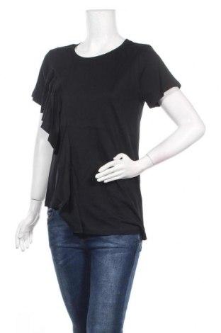 Γυναικεία μπλούζα Molly Bracken, Μέγεθος S, Χρώμα Μαύρο, Βαμβάκι, Τιμή 17,53€