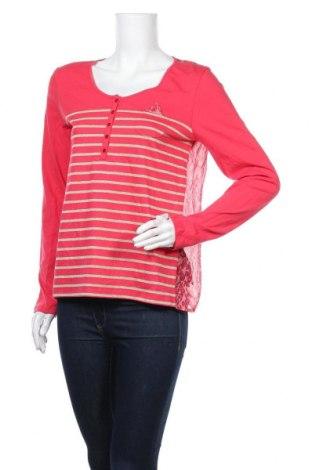 Дамска блуза One Step, Размер S, Цвят Червен, Памук, полиестер, коприна, Цена 42,72лв.