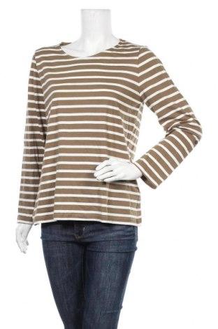 Дамска блуза Peckott, Размер XL, Цвят Зелен, Памук, Цена 11,60лв.