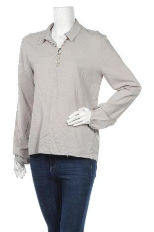 Дамска блуза Rich & Royal, Размер L, Цвят Сив, 97% вискоза, 3% еластан, Цена 73,67лв.