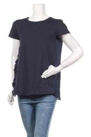 Дамска блуза Sandro Ferrone, Размер M, Цвят Син, Полиестер, Цена 32,40лв.