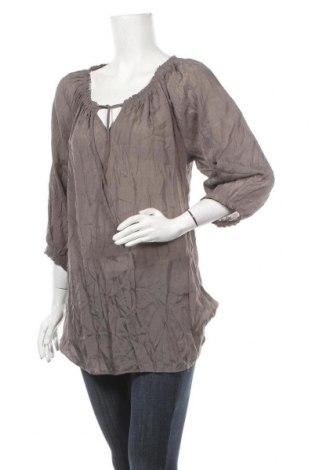 Γυναικεία μπλούζα Soya Concept, Μέγεθος L, Χρώμα Γκρί, 60% βισκόζη, 40% πολυεστέρας, Τιμή 4,09€