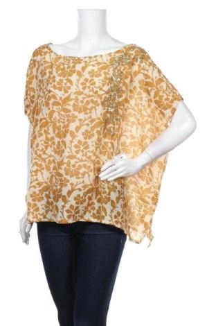 Γυναικεία μπλούζα Stella Forest, Μέγεθος XL, Χρώμα Κίτρινο, 70% βαμβάκι, 30% μετάξι, Τιμή 36,70€
