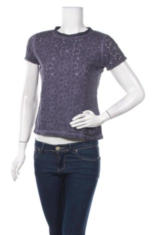 Γυναικεία μπλούζα Superdry, Μέγεθος XS, Χρώμα Βιολετί, Βαμβάκι, Τιμή 7,83€